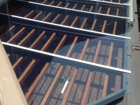 Glass Roofing Install