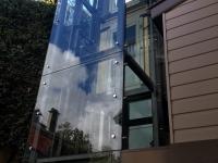 Glass Elevator Exterior