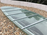 Modern Glass Sunroof