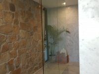 A Brand New Glass Wall Installation