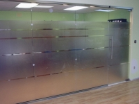 A Beautifully Built Glass Partition by Palmers Glass