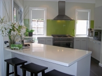 Nothing Beautifies a Kitchen like a Touch of Palmers Glass