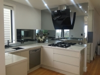 Modern Glass Kitchen Splashbacks