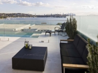 A Beautiful Example of Palmers Glass Frameless Pool Fence
