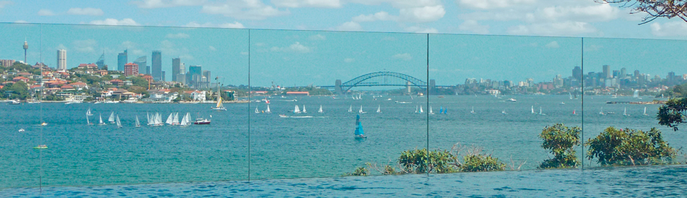 Frameless Toughened Laminated Glass