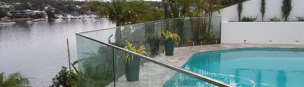 Clear Glass Pool Panes
