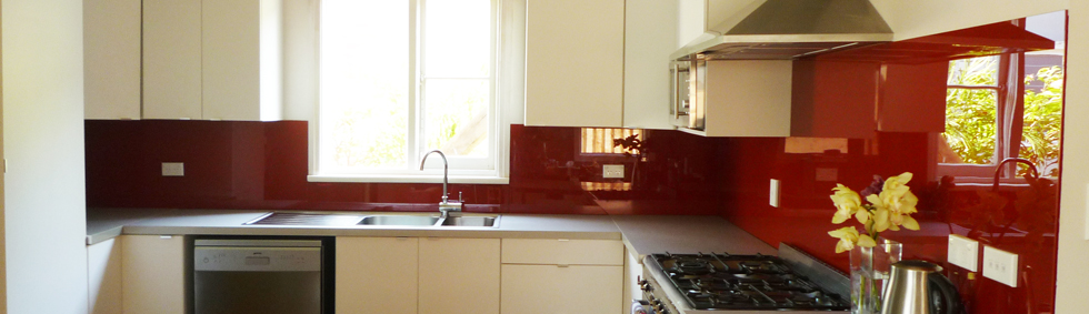 Patterned Glass Splashbacks