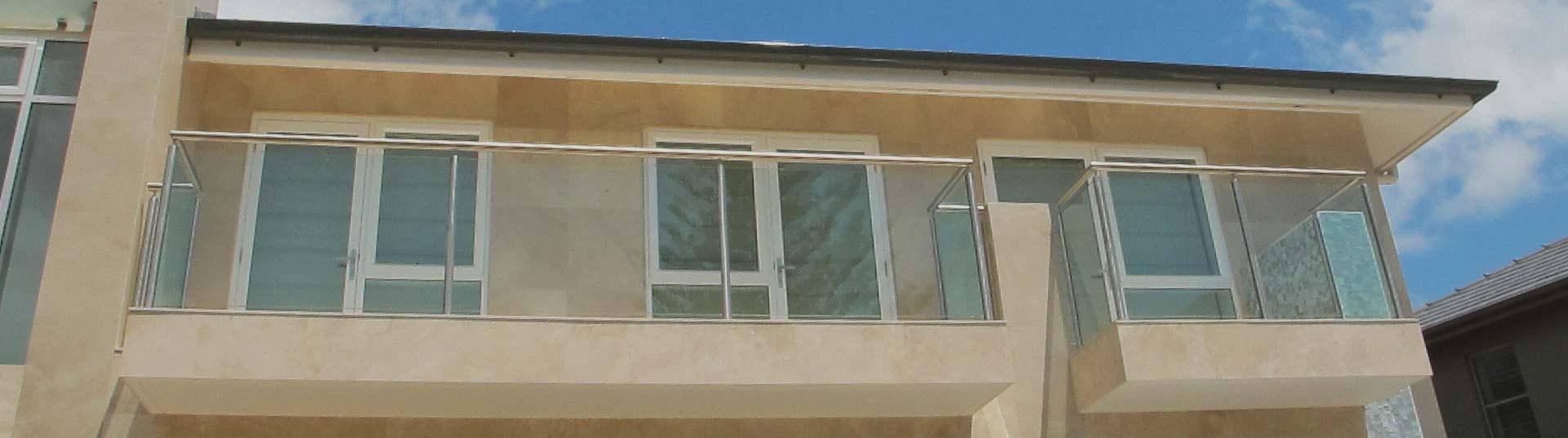 Semi Frameless Glass Balustrades