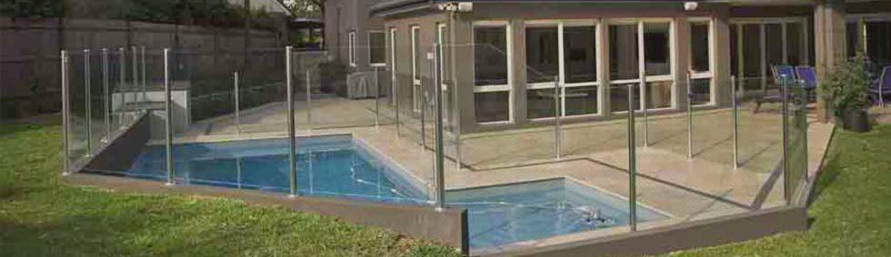 Semi-Framed Glass Pool Fencing Sydney