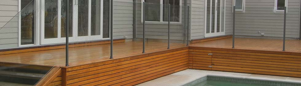 Semi-Framed Glass Pool Fencing System