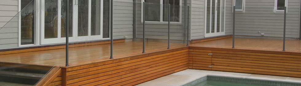 Semi-Framed Glass Pool Fencing System