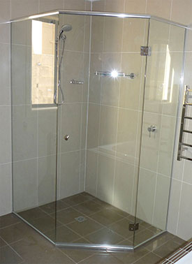 Frameless Shower Screens Project in Sydney